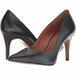 Coach Women's Patrice Leather Pump Black 10 M